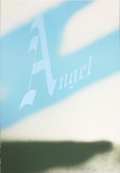 Ed Ruscha, Angel, 2014