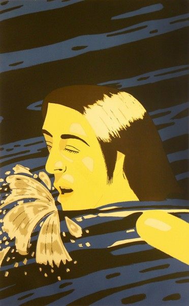 Alex Katz, Olympic Swimmer, 1976