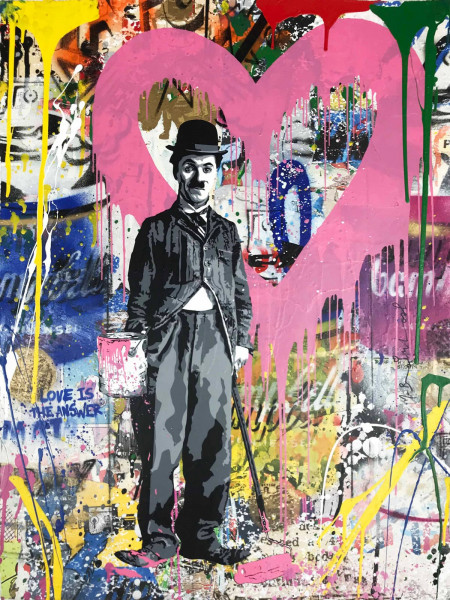 Mr. Brainwash, Chaplin, 2018