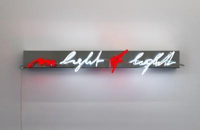 In light of light von Brigitte Kowanz