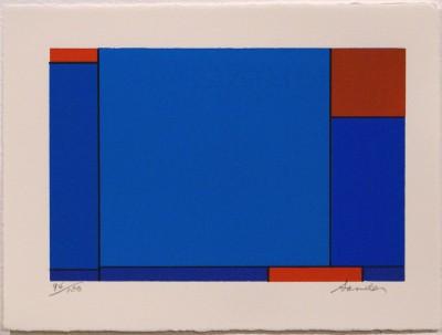 "Untitled (from ""Eighteen Small Prints"") von Ludwig Sander"