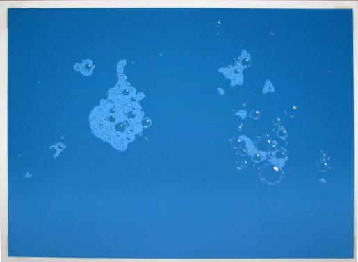 Ed Ruscha, Blue Suds, 1971