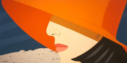 Alex Katz, Orange Hat, 1990
