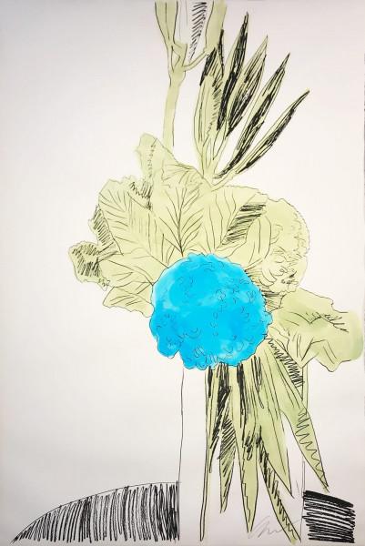 Andy Warhol, Flowers (Hand-Colored) (FS II.110), 1974
