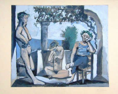 Bacchanal | Bacchanale von Pablo Picasso