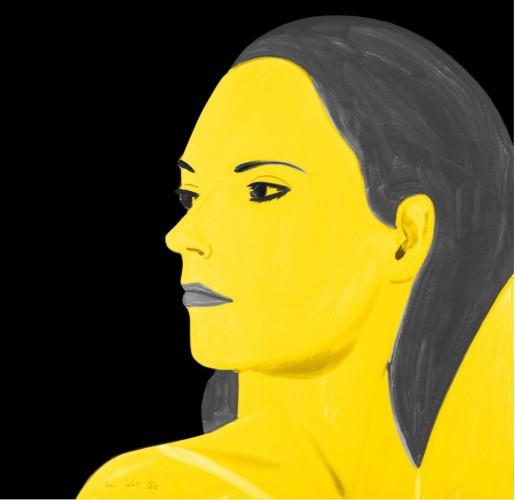 Alex Katz, Yellow Laura, 2018