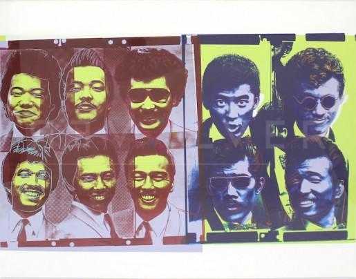Andy Warhol, Rats & Star (FS IIIB.21), 1983
