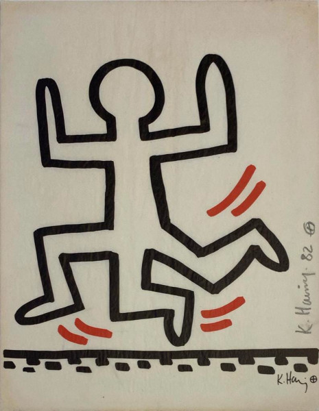 Keith Haring, Bayer Suite #6, 1982