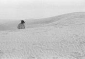 Cowboy in Dunes, White Sands National Park, USA
