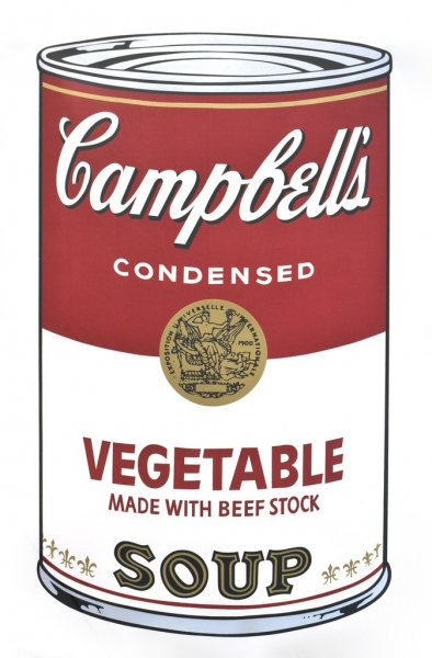 "Andy Warhol, Vegetable (FS II.48) from the Portfolio ""Campbell's Soup"", 1968"