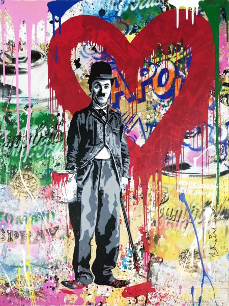 Mr. Brainwash, Chaplin, 2018