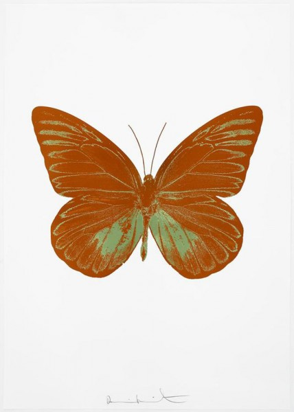 Damien Hirst, The Souls I - Paradise Copper/Leaf Green, 2010