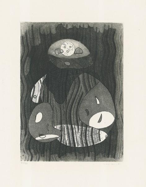 "Max Ernst, Untitled - ""Maternité"", 1950"