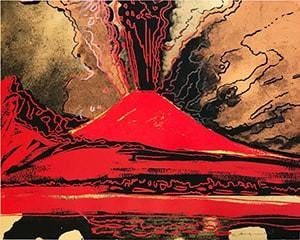 Vesuvius (FS II.365) von Andy Warhol