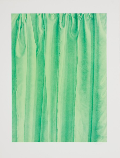 Claudio Bravo, Flora (green), 1998