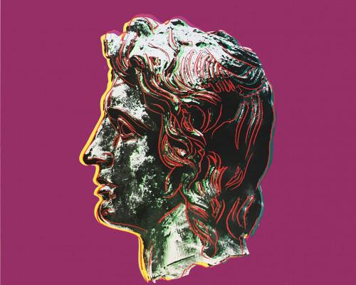 Alexander the Great (FS II.291) von Andy Warhol