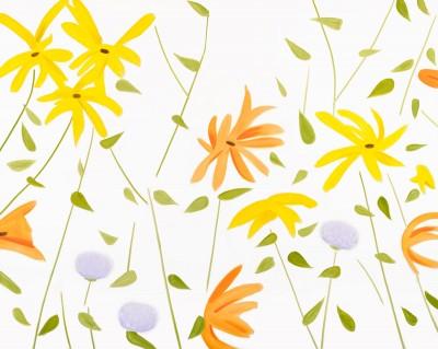 Flowers 2 von Alex Katz