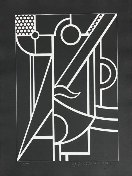 Roy Lichtenstein, Modern Head #3, 1970