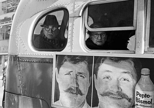 Thomas Hoepker, Bus, New York, USA, 1963
