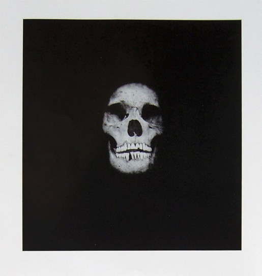 Damien Hirst, I Once Was What You Are, You Will Be What I Am (Skull 1), 2007