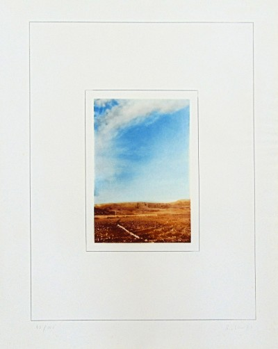Gerhard Richter, Landscape I | Landschaft I, 1971