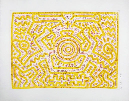 Keith Haring, Untitled (A), 1985