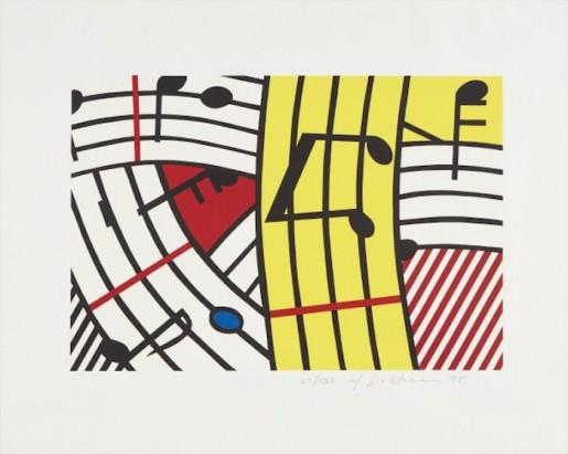 Roy Lichtenstein, Composition IV, 1995