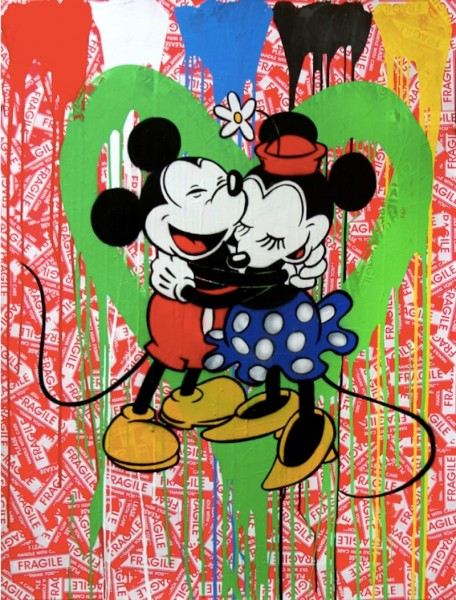 Mr. Brainwash, Mickey & Minnie, 2014