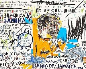 50 Cent Piece von Jean-Michel Basquiat