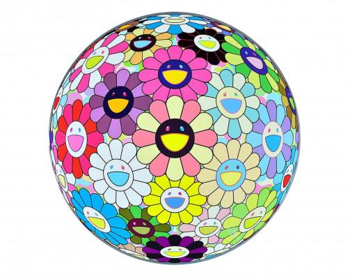 Flower Ball: Lots of Colors von Takashi Murakami