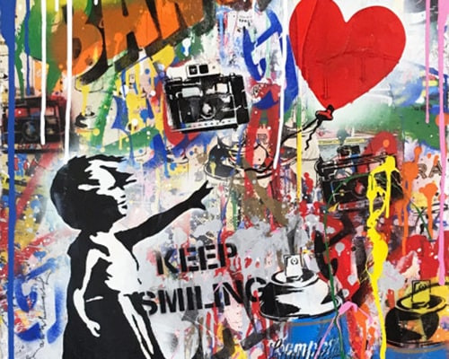 Balloon Girl von Mr. Brainwash