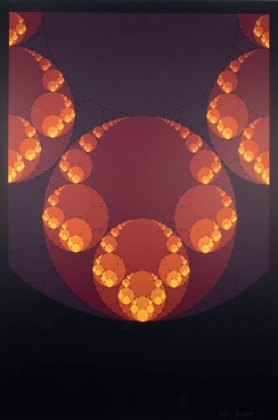 Karl Gerstner, Color Fractal, 1997