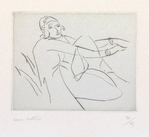 Henri Matisse, Le bonnet fleuri, 1929
