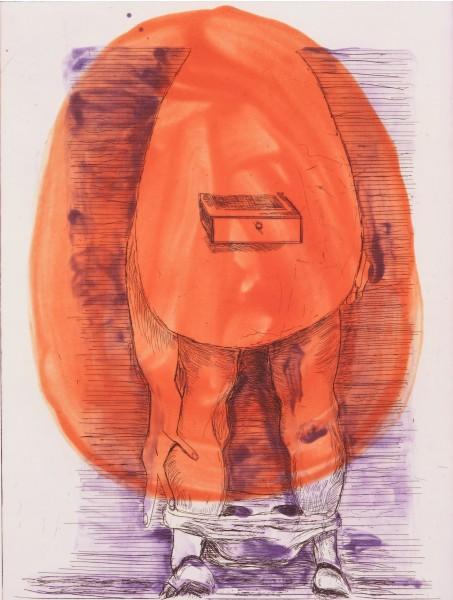 Martin Kippenberger, Eierfrau, 1996
