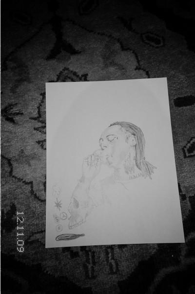 Untitled (Lil Wayne) von Ari Marcopoulos