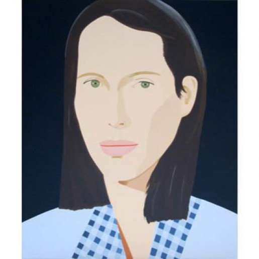 Alex Katz, Christy - Hommage a Utamaro, 2010