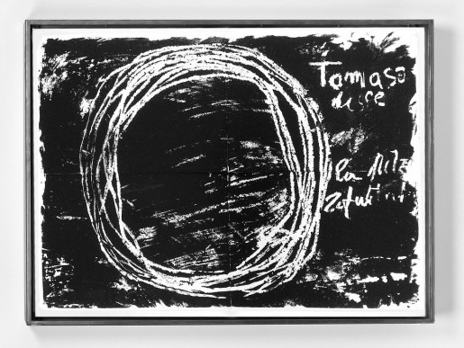 Jannis Kounellis, The Gospel According to Thomas, 2000