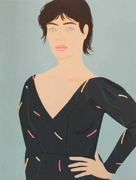 Alex Katz, Gray Dress (Laura), 1992