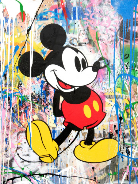 Mr. Brainwash, Mickey Green, 2018