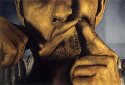 Cockeye Lips from Infrared Outtakes von Bruce Nauman