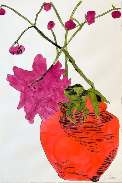 Andy Warhol, Flowers (Hand-Colored) (FS II.119), 1974