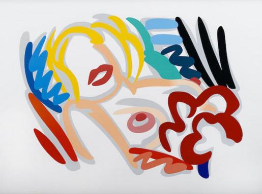 Tom Wesselmann, Big Blonde, 1988-89