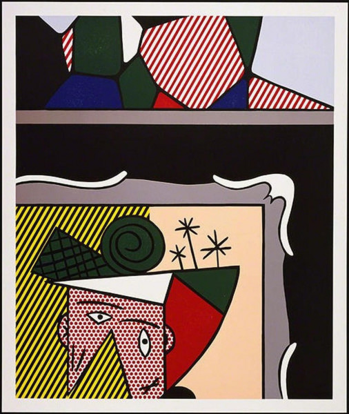 Roy Lichtenstein, Two Paintings, 1984