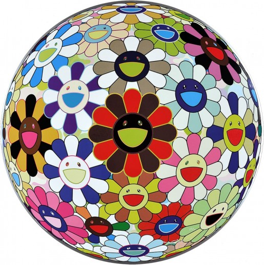 Takashi Murakami, Flower Ball: Lots of Colors, 2013