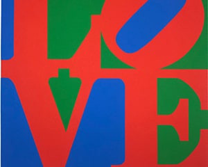 The Book of Love 7 von Robert Indiana