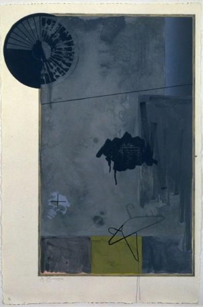 Jasper Johns, Evian, 1972