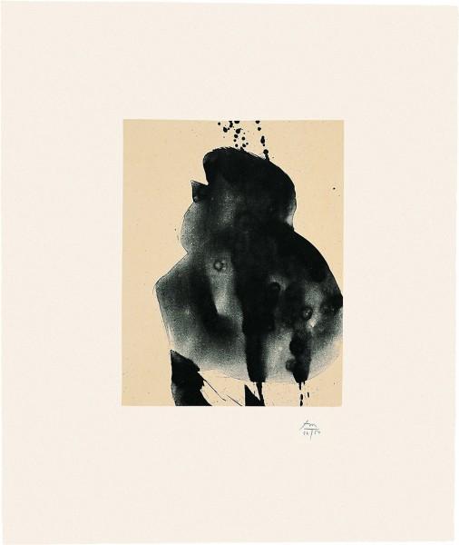 Robert Motherwell, Octavio Paz Suite: Nocturne III, 1988