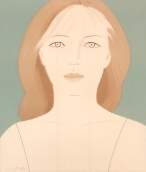 Alex Katz, Anastasia, 1984