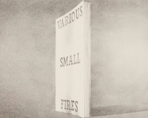 Various Small Fires (from Book Covers) von Ed Ruscha
