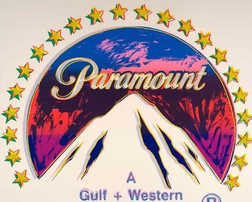 """Paramount (FS II.352), from the Portfolio """"ADS"""" von Andy Warhol"""